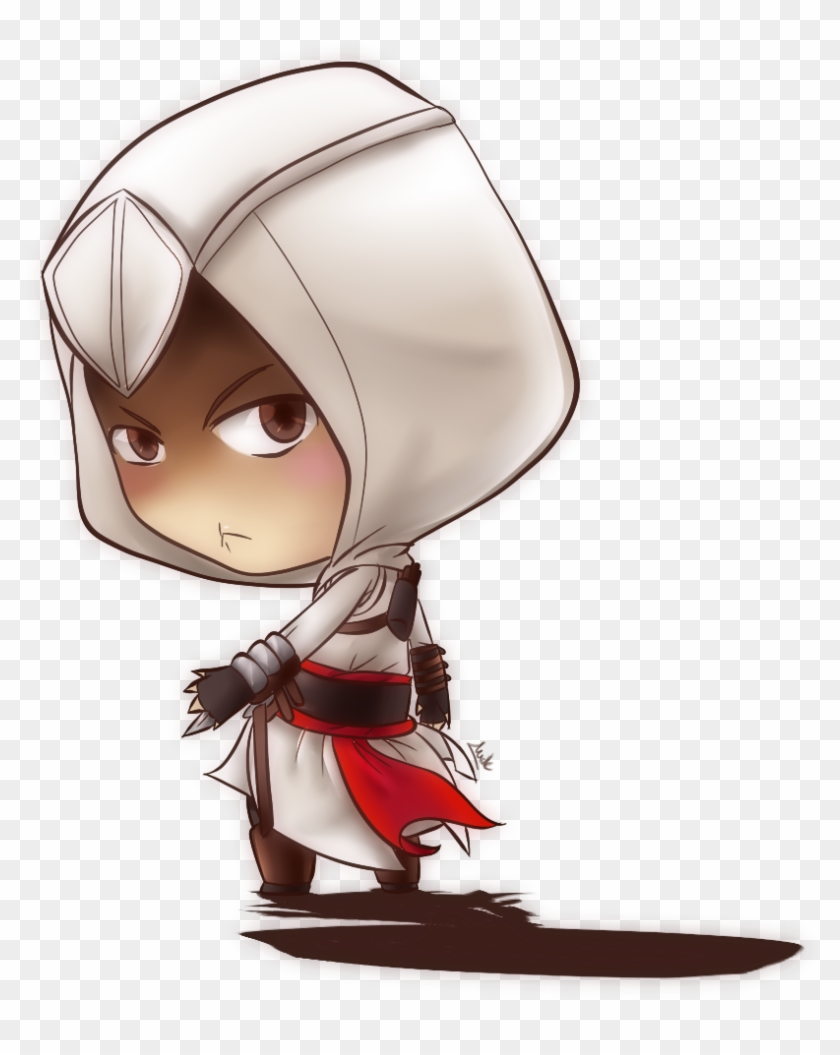 Fan Art Assassin S Creed Assassin S Creed Altair Chibi Free Transparent Png Clipart Images Download