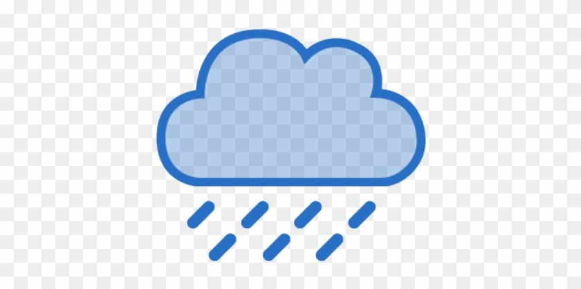 Heavy Rain Weather Symbol For Kids Weather Forecast Icons Rain