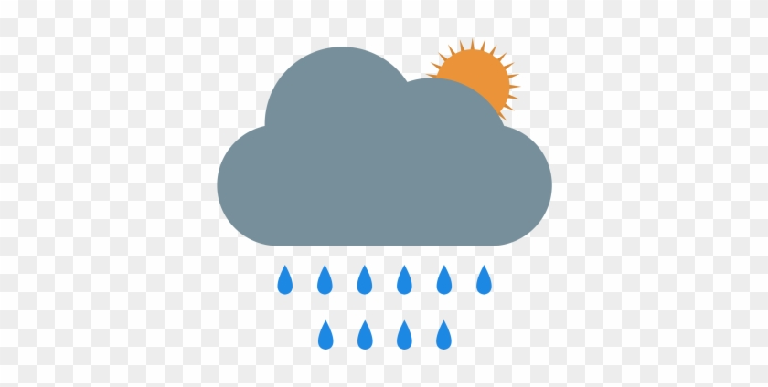 Summer, Rain, Clouds, Cloudy, Drop, Weather Icon - Rain Clouds Icon #1229994