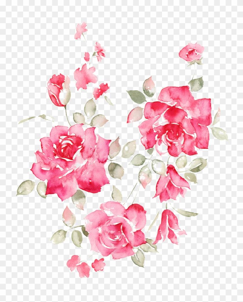 Garden Roses Flower Clip Art - Valentine's Day #1230412