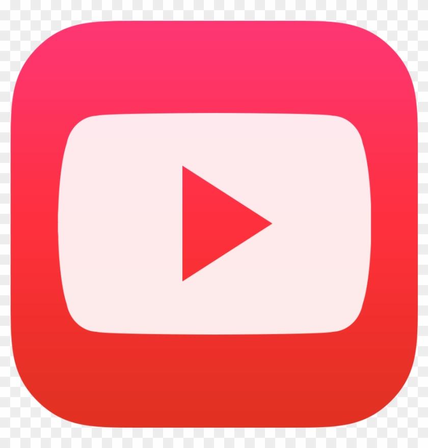 Youtube Icon Png Image - Ios 9 Icons Youtube #1230700