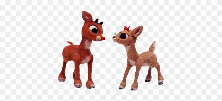 Rudolph & Clarice Psd - Rudolph The Red Nosed Reindeer Png ...