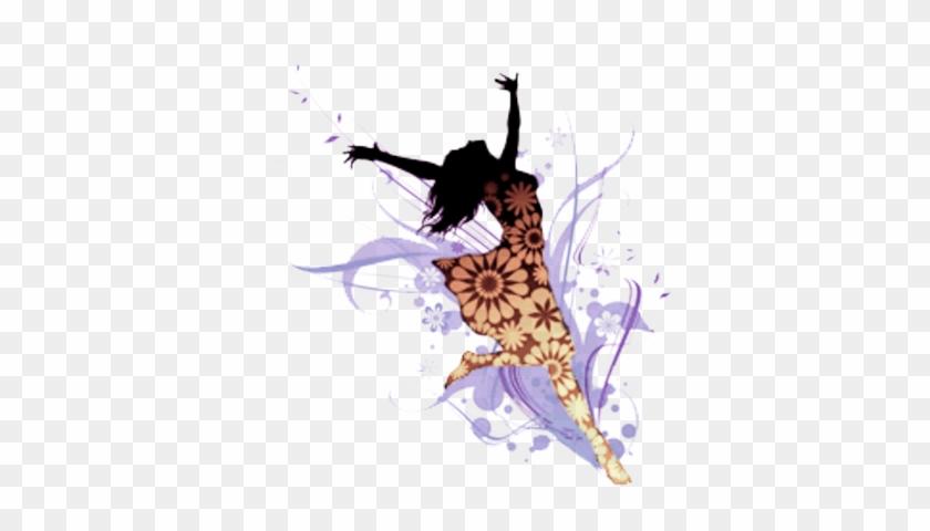 Psd Detail - Silhouette Of Praise Dancer #1231053