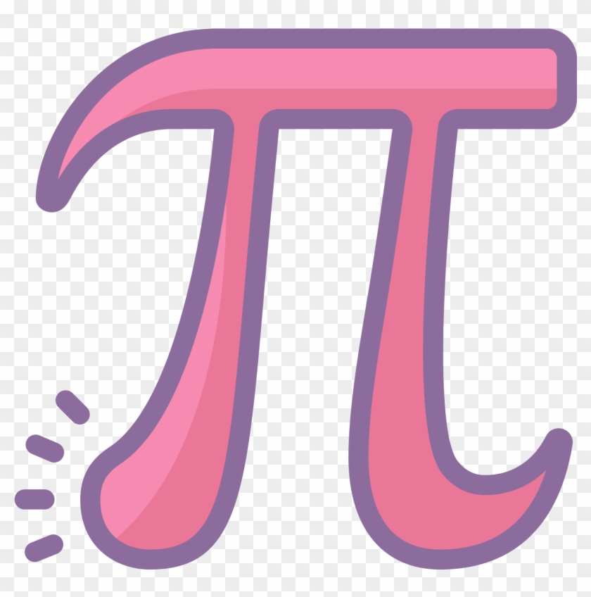 Pi, The Mathematical Symbol For The Number - Icon #1231340