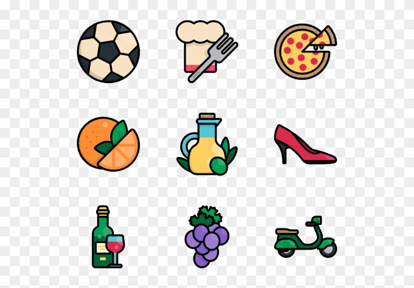 Italy - Sport Equipment Clipart Png #1231871