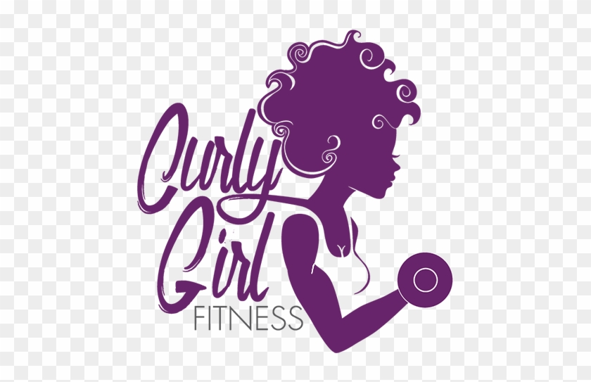 Curly Girl Fitness - Curly Girl Logo #1231886