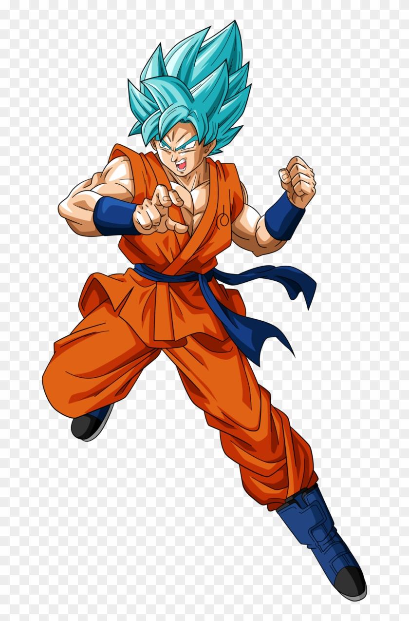 Super Saiyan Blue Goku By Rayzorblade189 On Deviantart