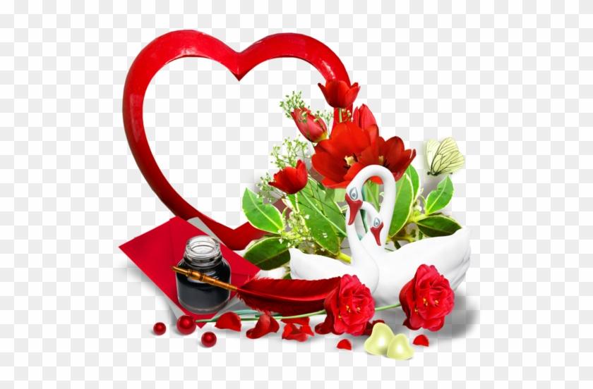 Coeur,tube,png - Png Flower Real #1233156