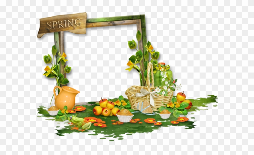 Spring Picture Frame Png #1233308