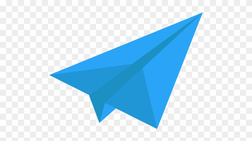red paper plane png image blue paper airplane icon free
