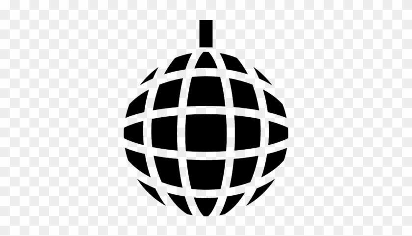 Music Disco Ball Vector - Disco Ball #1233508