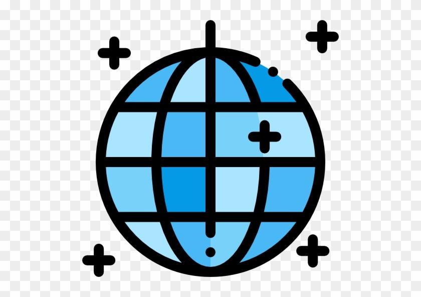Disco Ball Free Icon - Globe Icon - Free Transparent PNG