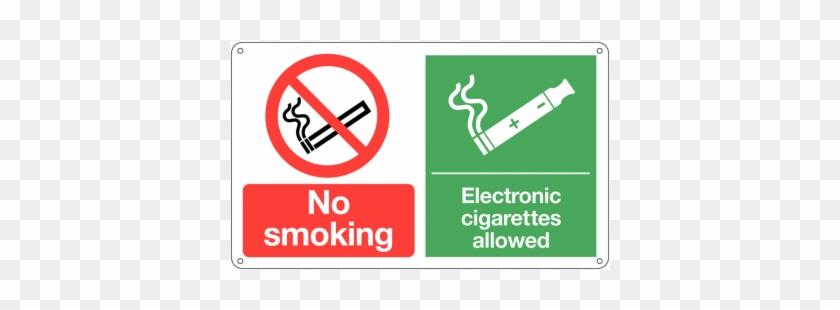 No Smoking/electronic Cigarettes Allowed Signs - No Smoking Or Vaping #1235731