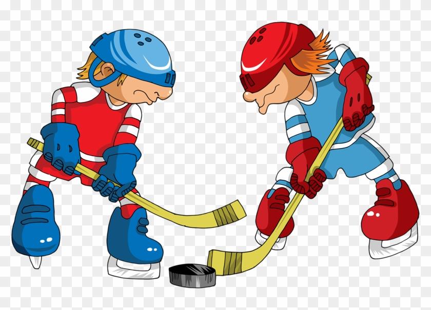 Yandeks Fotki Hockey Players Cartoon Free Transparent Png Clipart Images Download