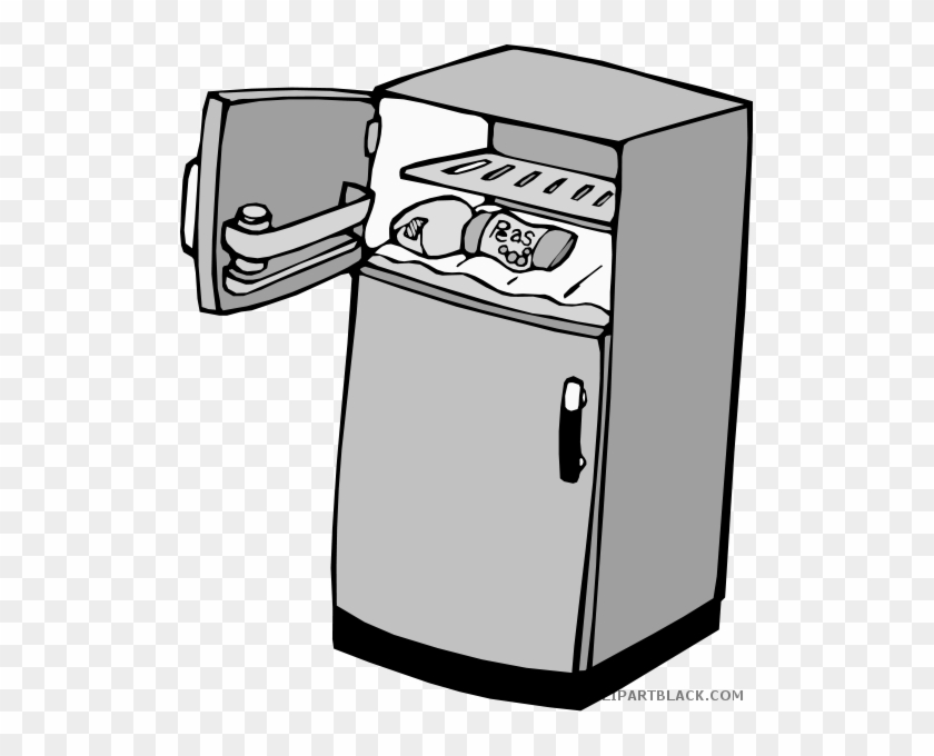 Fridge - Freezer In Refrigerators Clipart #1237825