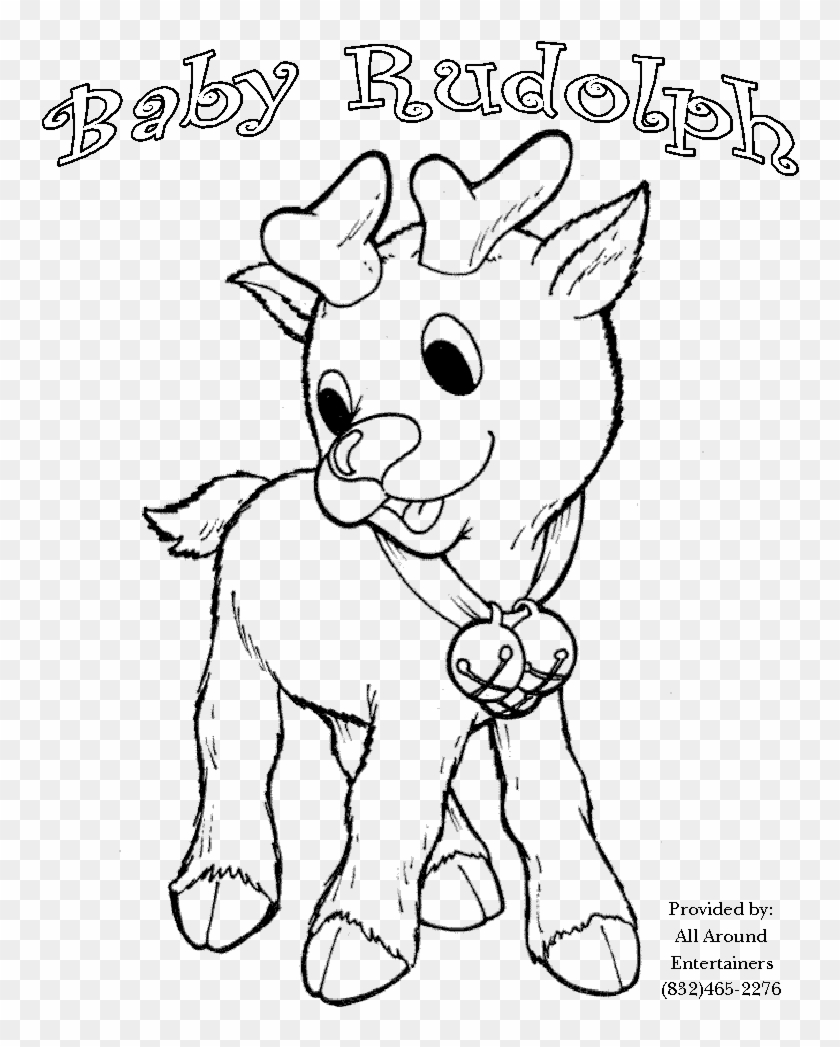 Image Gallery Of Rudolph Coloring Pages Top 20 Free - Rudolph ...