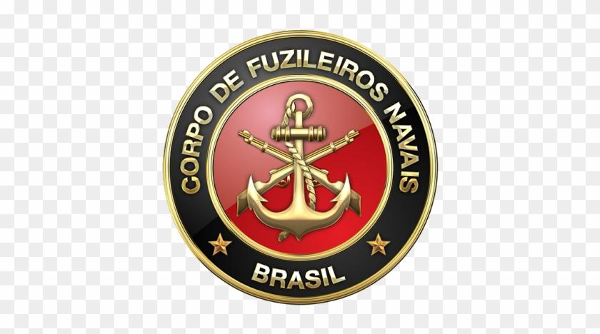 Military Insignia 3d - Simbolo Dos Fuzileiros Navais Brasileiros #1239398