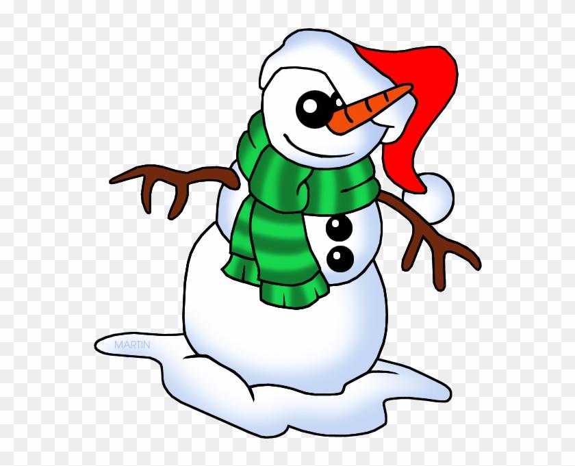 Snowman - Christmas Snowman Clip Art #1239588