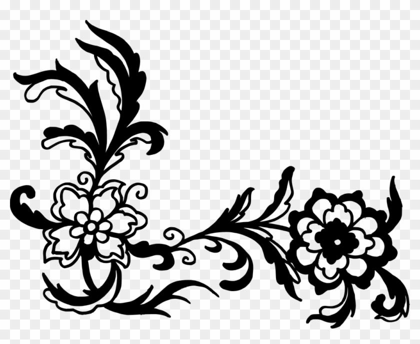 3040 2351 px corner floral pattern vector png free transparent png clipart images download corner floral pattern vector png