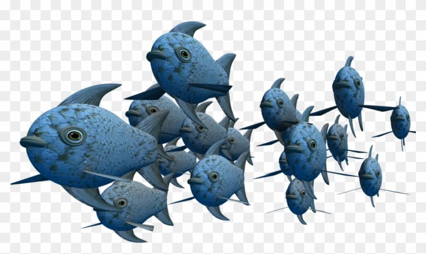 Finding Nemo School Of Fish Download - School Of Fish Png #1240841