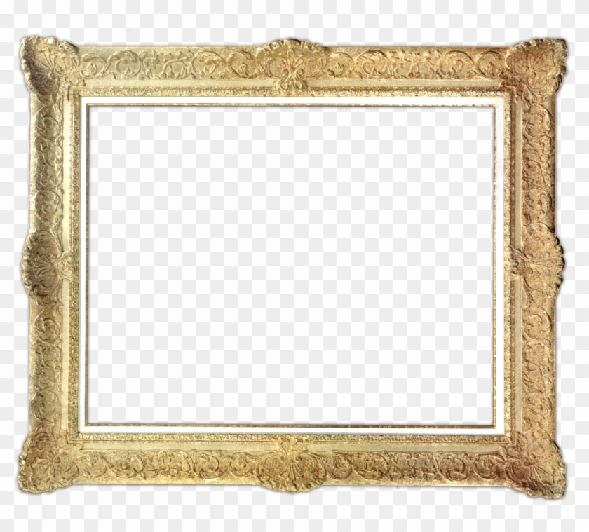 Eyeglass Frame Catalog With Designer Eyewear Brands - Gold Picture Frames Transparent #1241468