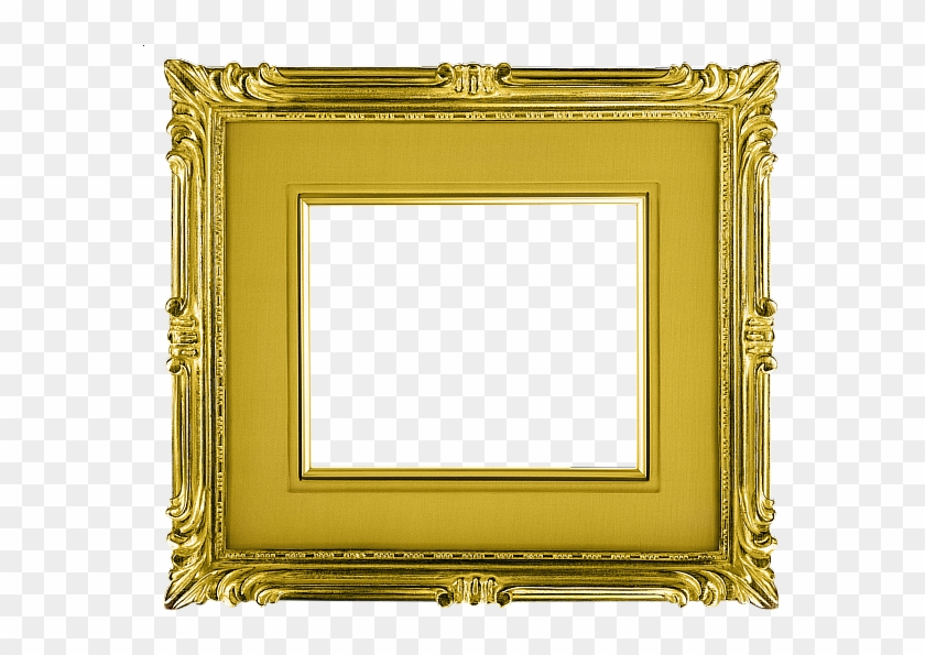 Classical Horizontal Transparent Gold Picture Frame - Gold Landscape Picture Frames #1241488