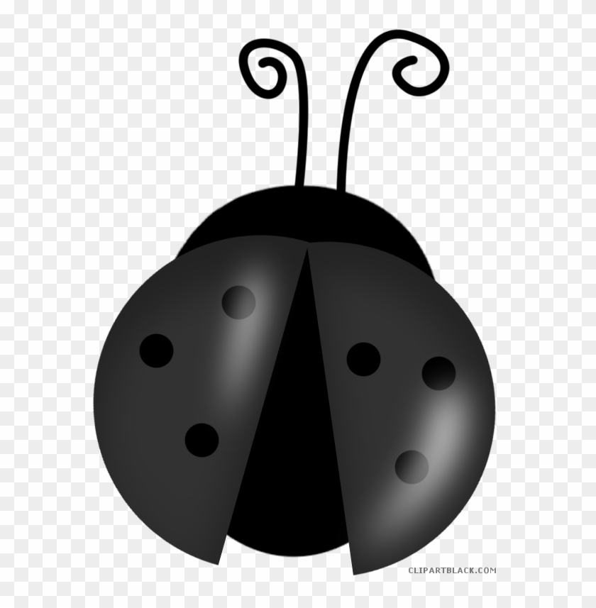 Cartoon Ladybug Animal Free Black White Clipart Images - Ladybug Clip Arts #1241752