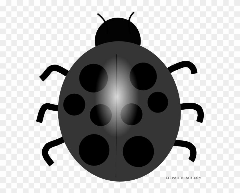 Ladybug Quality Animal Free Black White Clipart Images - Blue Lady Bug Clip Art #1241764