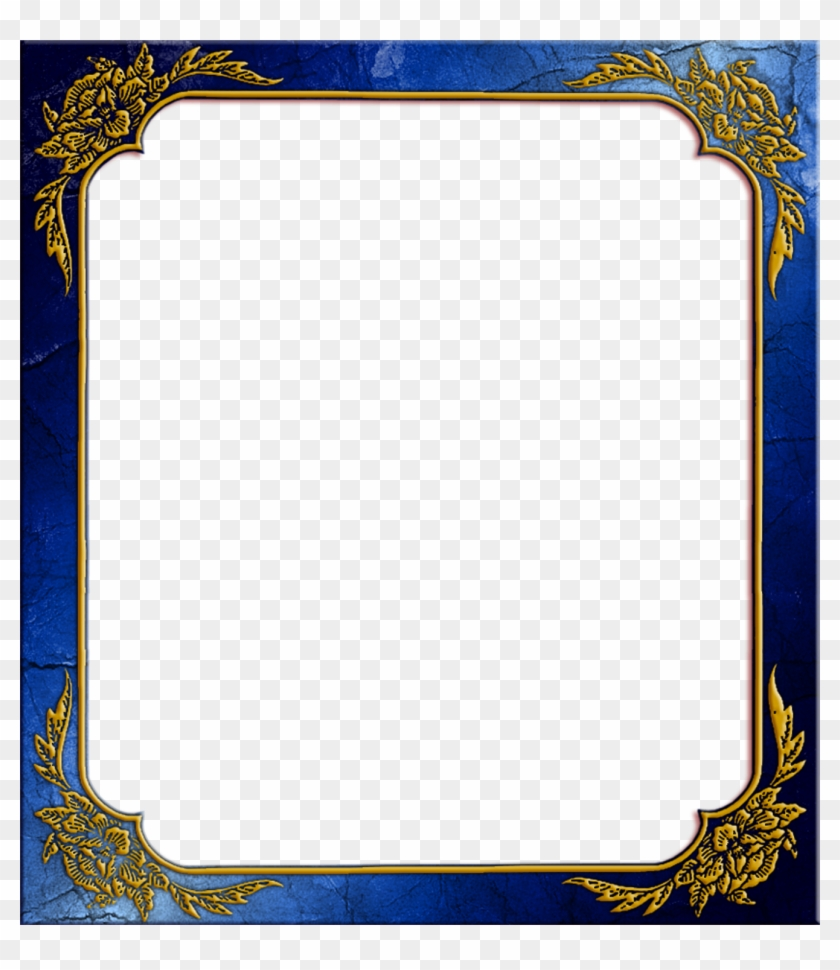 Gold Picture Vintage Simple Remarkable Classic White - Frames Png ...
