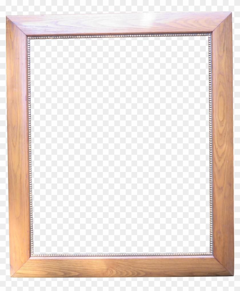 Gold Frame Border Square - Wood Frame #1241884
