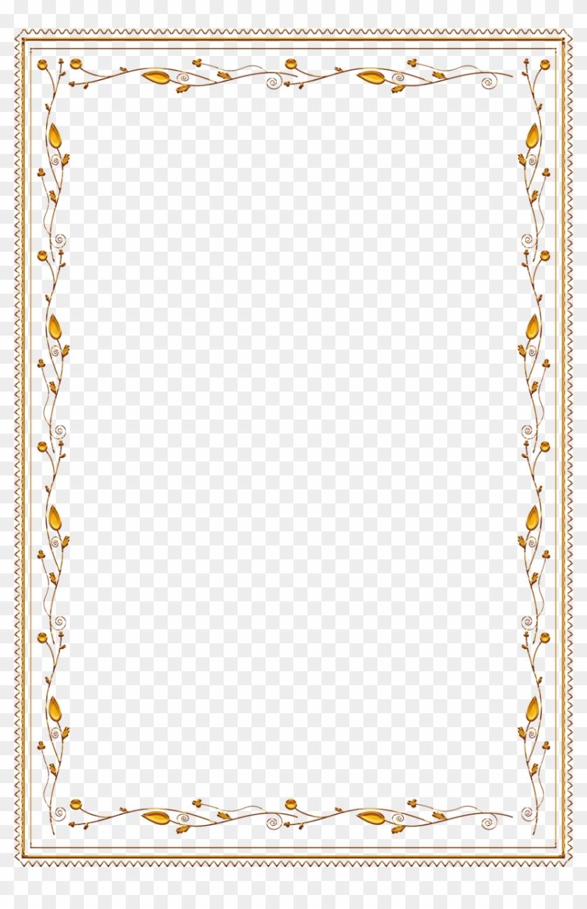 Frame Ornate Gold Vintage Png Image - Gold Corner Decoration Vector #1241887