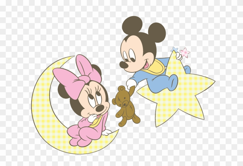 Baby Mickey Minnie Moon Baby Minnie Mouse Coloring Pages Free