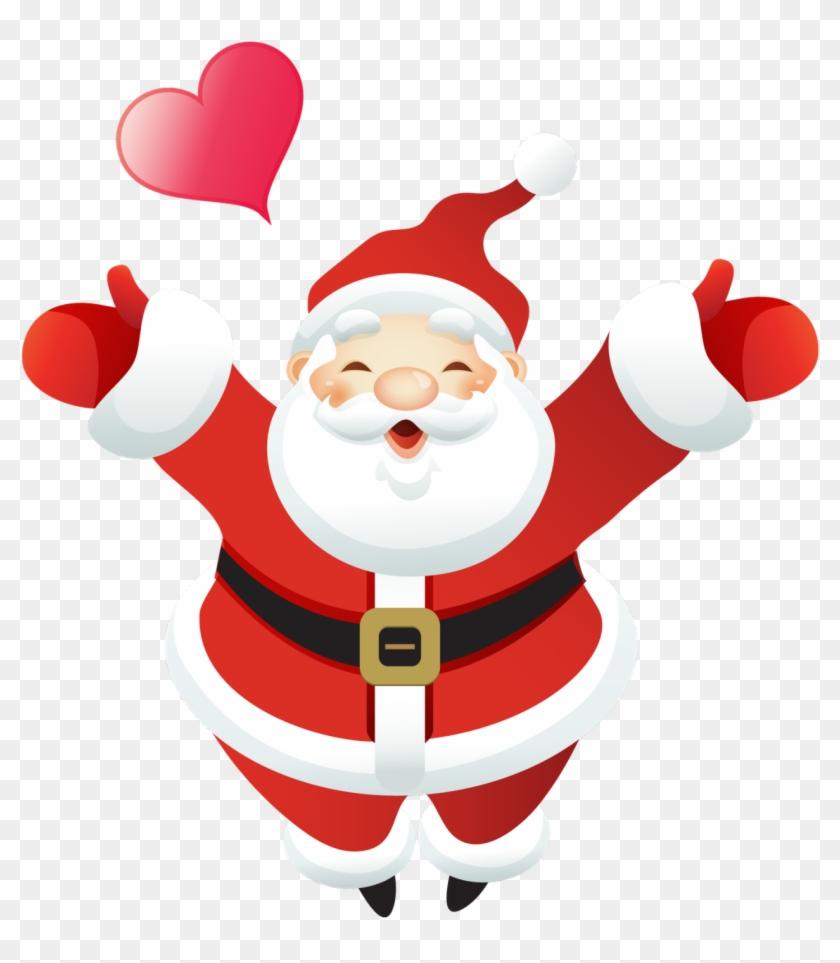 Vector Santa Claus Clipart - Imagenes De Papa Noel Animadas - Free ...