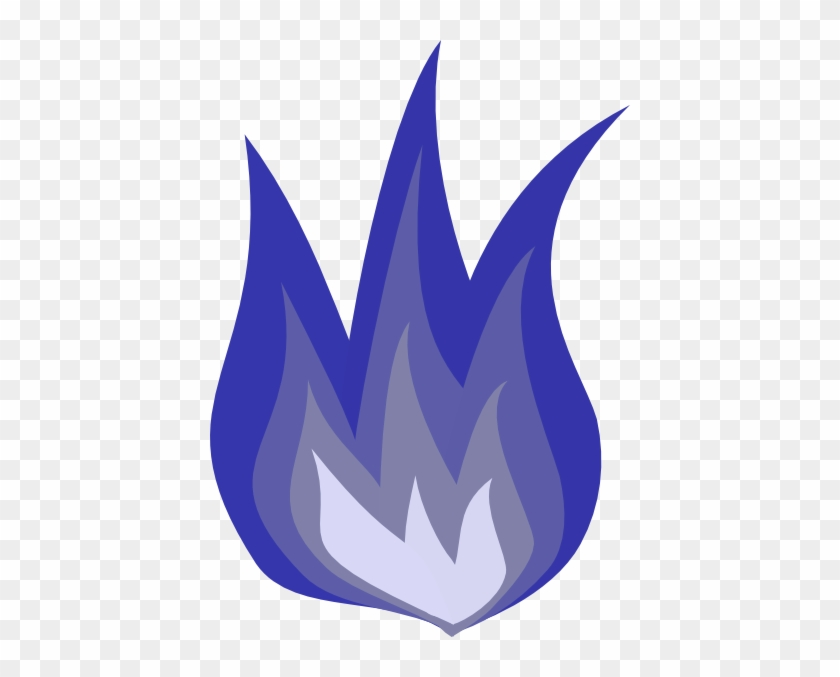 Blue Flame Clip Art At Clker Holy Spirit Fire Symbols Free
