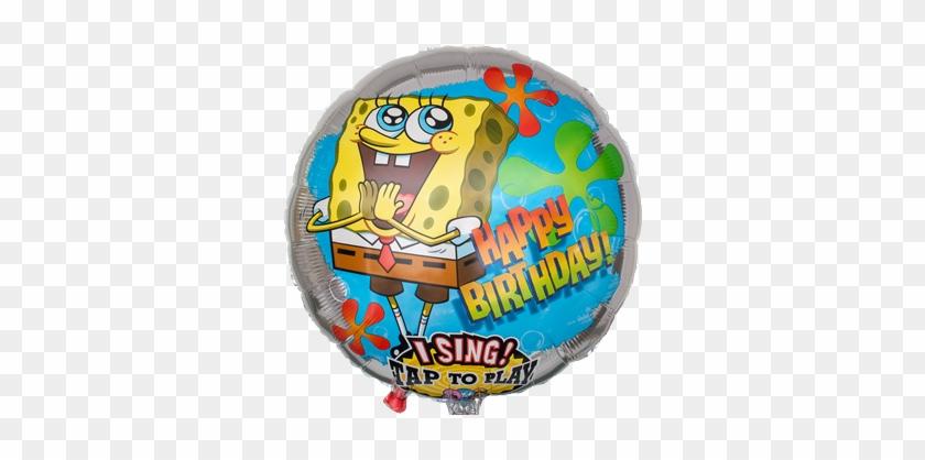 Spongebob Birthday Png Singender Spongebob Ballon Mit - Cadbury Chocolate Creme Caramel Egg - 4 Count, 5.48 #1244114