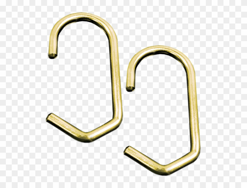 Furniture Graceful Brass Shower Curtain Hooks Awesome