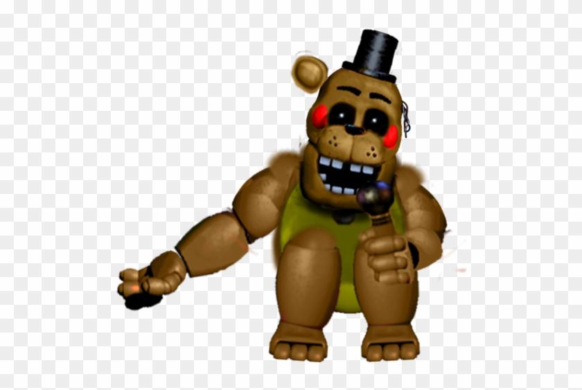 Toy Golden Freddy Version 2 By Reizosaurus 64