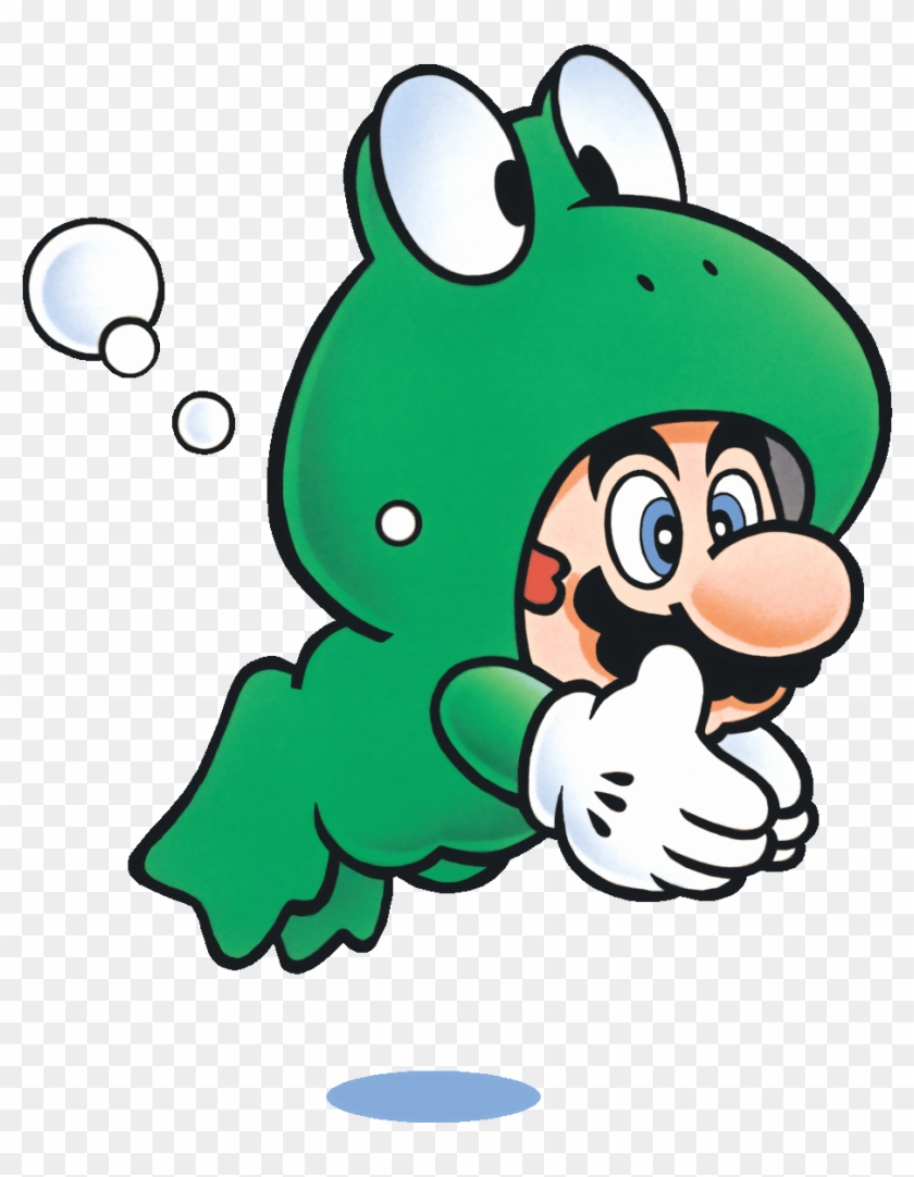 There's No Doubt That Mario Will Be Exploring Some - Super Mario Bros 3 Frog Suit #1246976