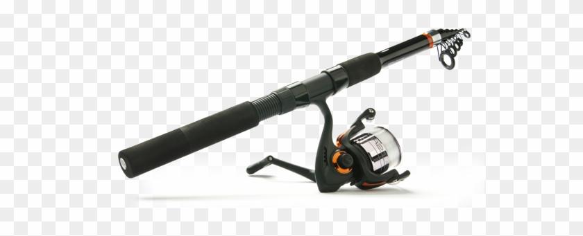 Sz 2 Bronze Treble Hooks - Ready 2 Fish Telescopic Spin Combo With Kit #1247085