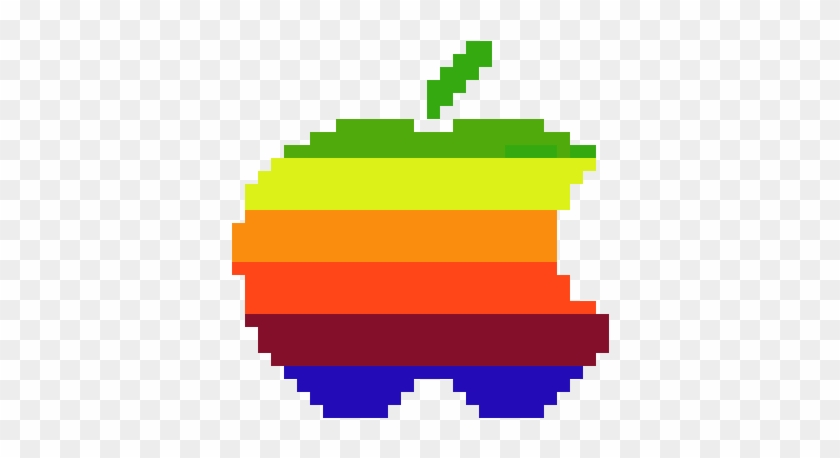 Apple Bite Pixel Art Minecraft Logo Free Transparent Png