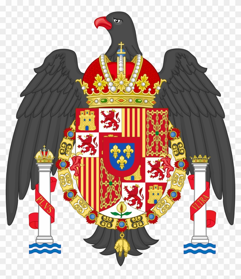 An American Monarchy Coat Of Arms By Regicollis On - Spain