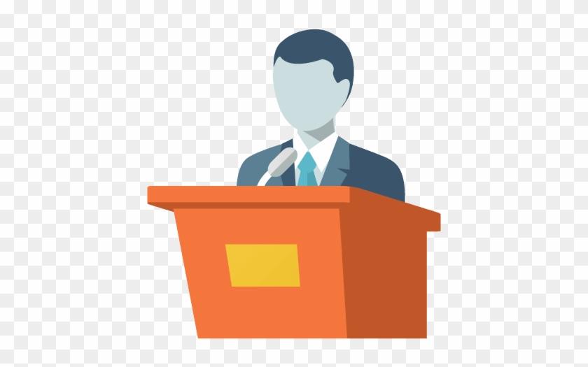 Nonprofit Board Members - Homem No Púlpito Png - Free