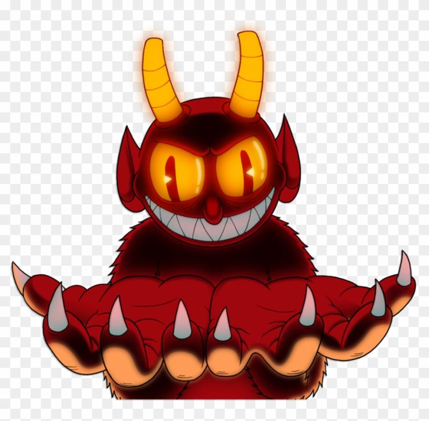 Devil Holding Your Oc - Cuphead Devil Unused Animation #1249753