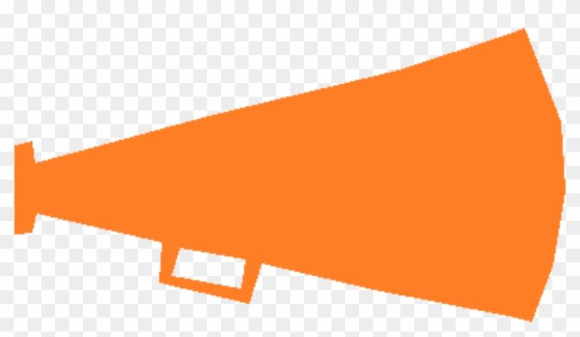 Big Image - Orange And Black Megaphone #1250954
