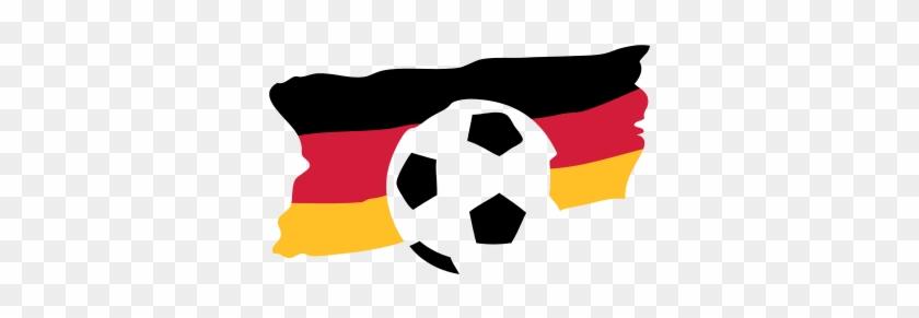 Fussball Deutschlandflagge Fussball Deutschland Flagge