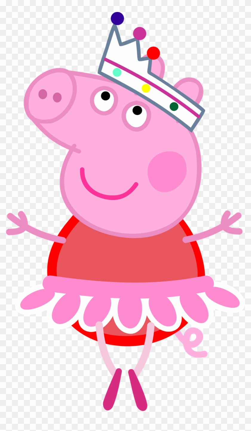 Youtube Iron On Ballet Dancer T Shirt Peppa Pig Ballet Png Free
