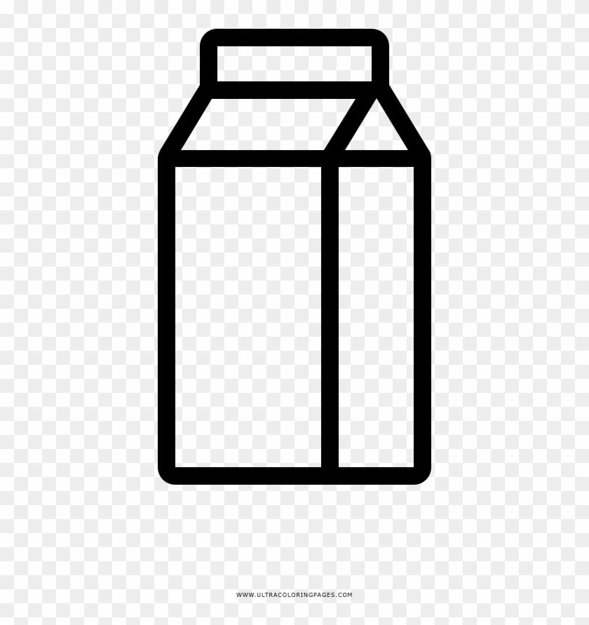 Milk Coloring Page - Carton De Leche Para Colorear - Free ...