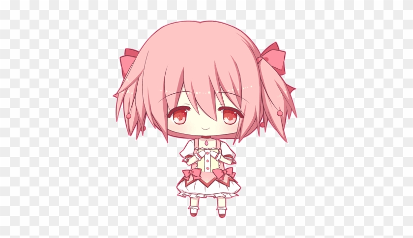 Kaname Madoka By Peachycandy Cute Anime Gif Png Free Transparent Png Clipart Images Download