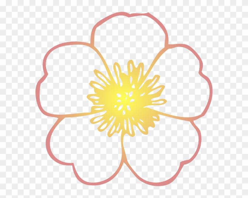 Hand-drawn Flowers Of Dahlia - Flower Clip Art Free #1253109