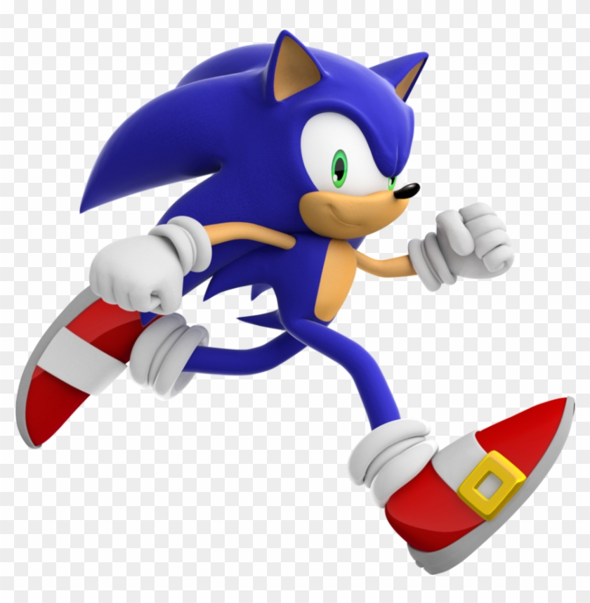 Super Sonic Run Sonic The Hedgehog Running Free Transparent Png Clipart Images Download